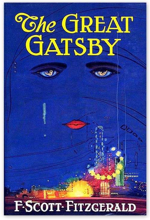The Great Gatsby Book Cover by Francis Cugat