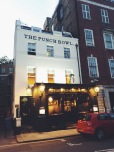 My favorite London pub: the Punchbowl in Mayfair.