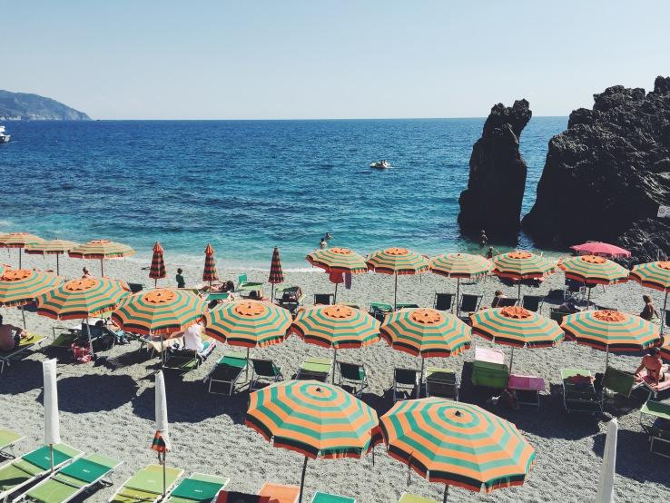 Monterosso Beach in Cinque Terra