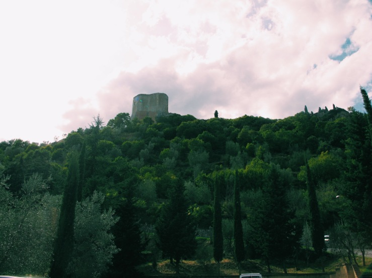 Rocca d'Orcia, from a distance.
