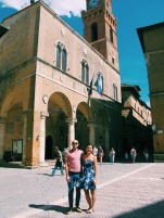 "In Pienza, the ""Ideal City."""