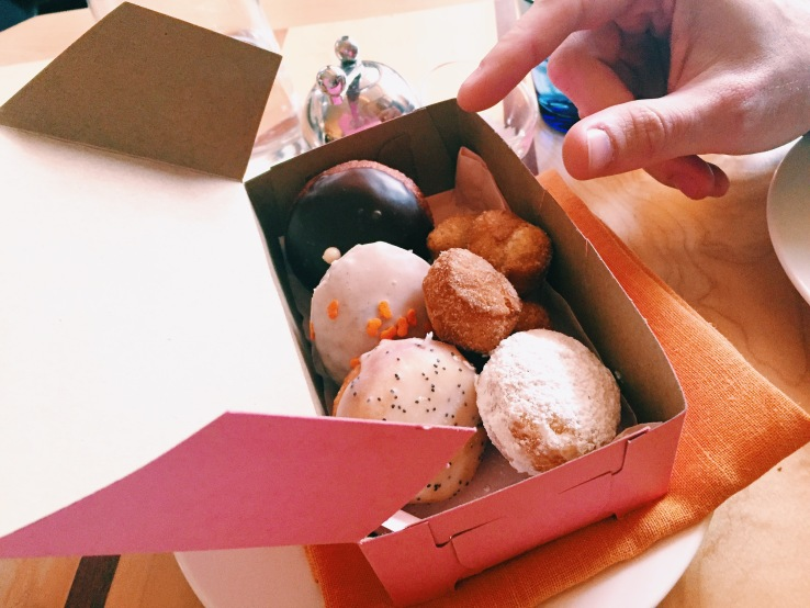 Life is like a box of doughnuts.