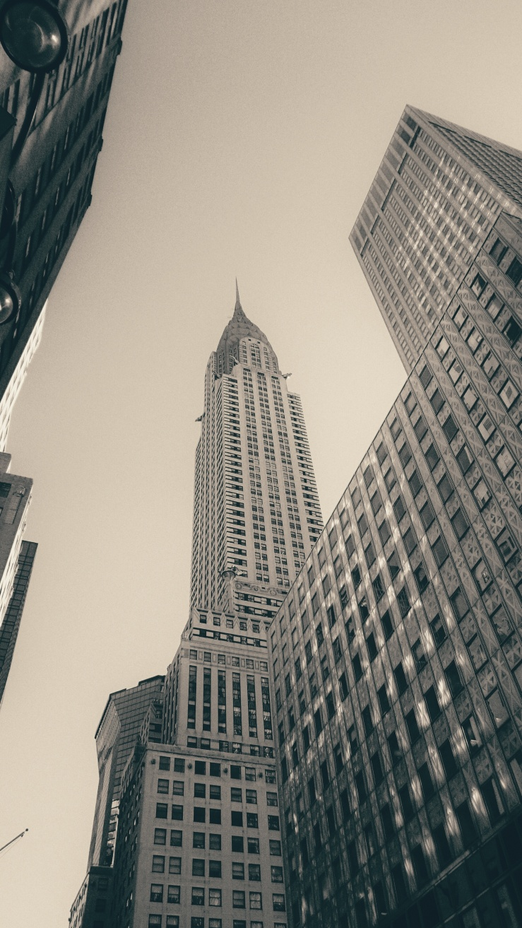 Chrysler Building Unemployment diaries