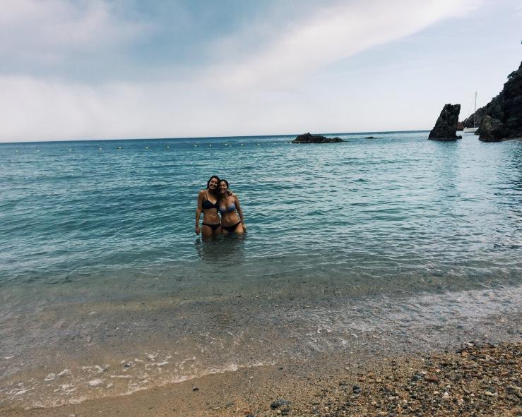 travel tips Jumping into Llafranc Secret Beach