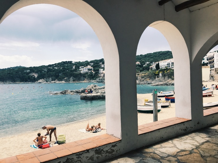Llafranc Beach Town Costa Brava Spain